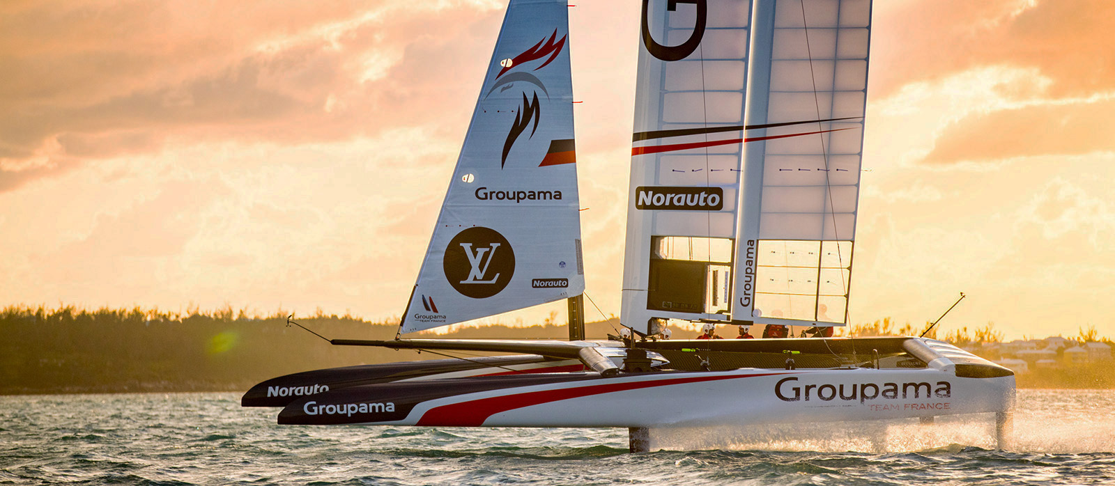 Groupama Team France Ready for the America's Cup