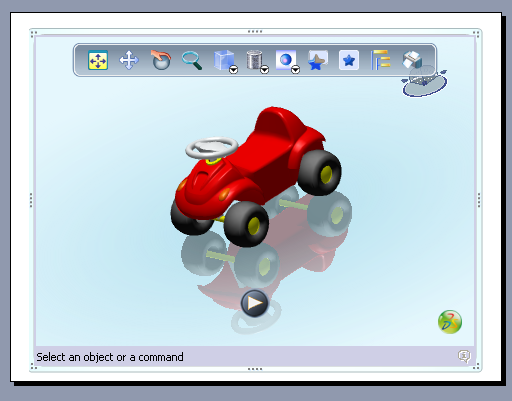 Embedding 3d Xml Player In Microsoft Office Applications