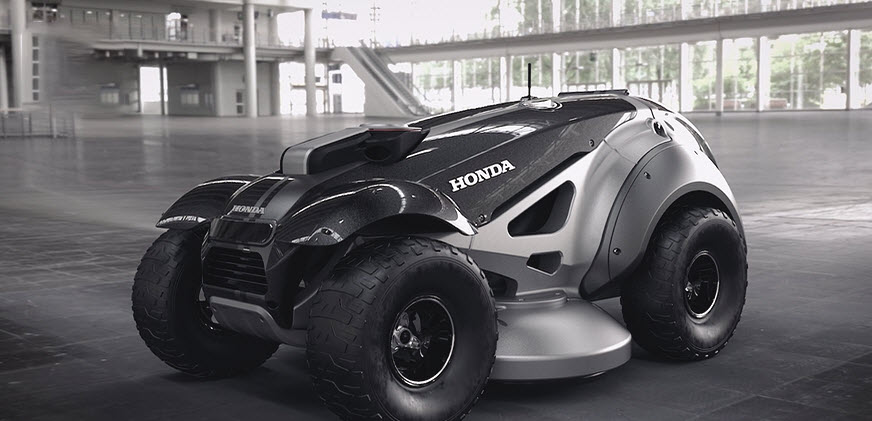 Honda Life Creation Center prototype lawnmower