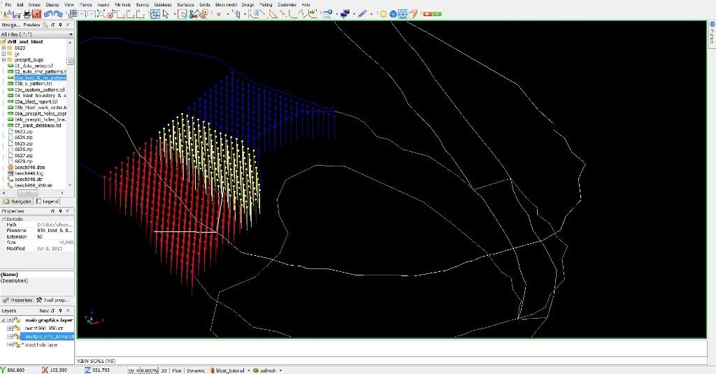 Geovia Drill And Blast Designer Surpac Role Dassault Systemes